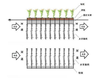 生物浮床的结构特征