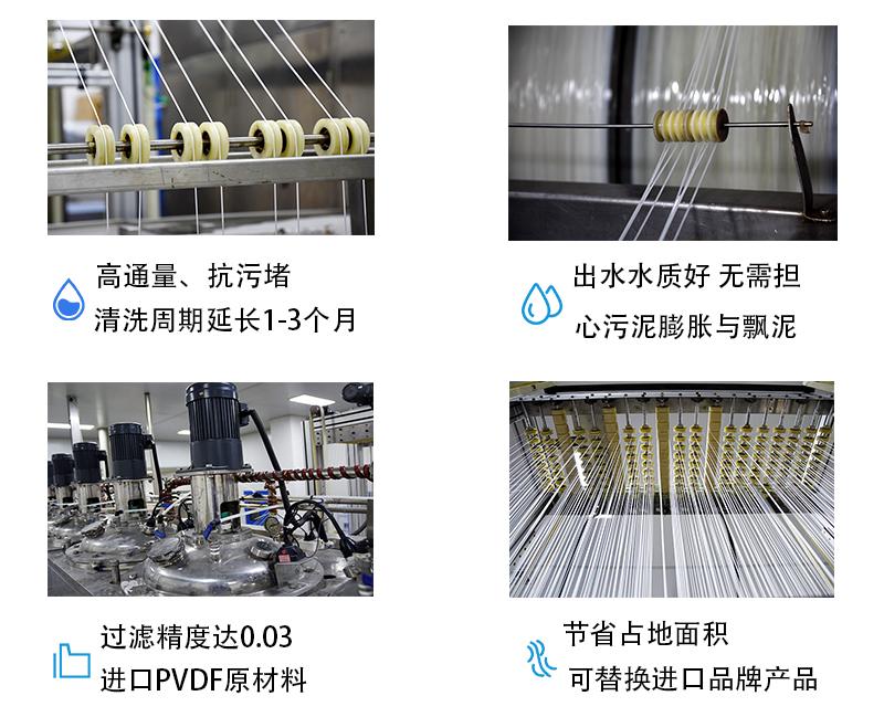 膜生物反应器-PVDF膜-超滤膜-苏州苏净MBR膜厂家