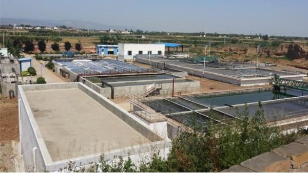 陕西某市政污水处理厂填料案例