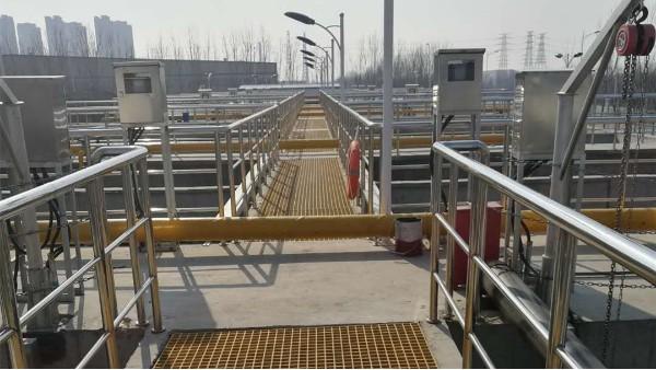 天津某市政污水处理厂填料案例