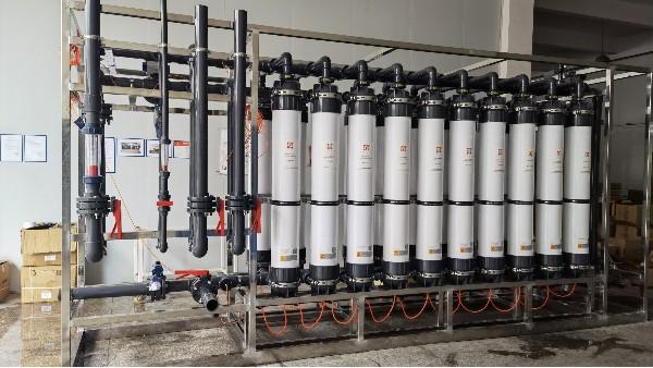超滤膜在水处理工艺上的作用