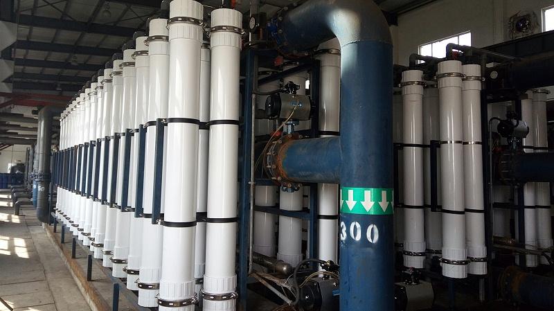 盐城某钢铁集团超滤膜项目