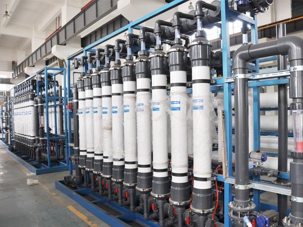 工业废水中水回用应用-----RO+UF