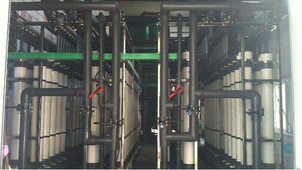 无锡某热电厂超滤膜案例