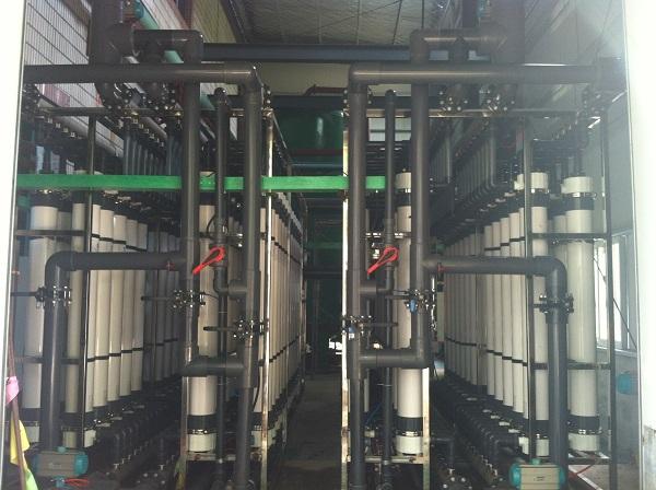 热电厂超滤膜案例