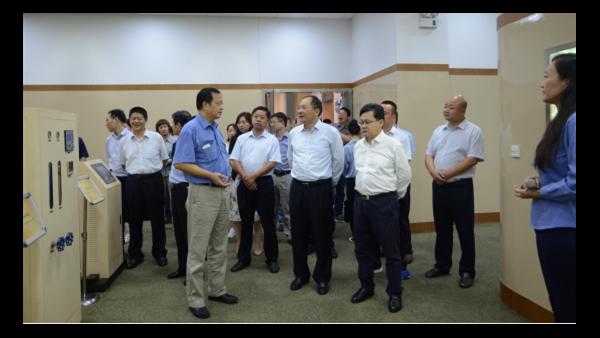 安庆市大观区党政代表团考察苏净