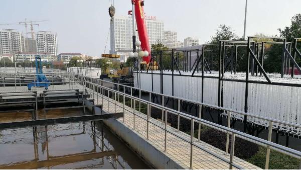 我司张家港市政污水提标改造项目通过验收!