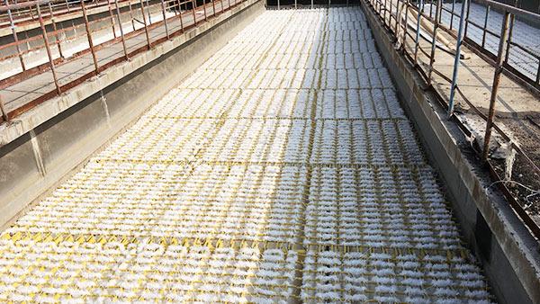 山东齐鲁石化炼油厂/橡胶厂废水填料改造工程案例