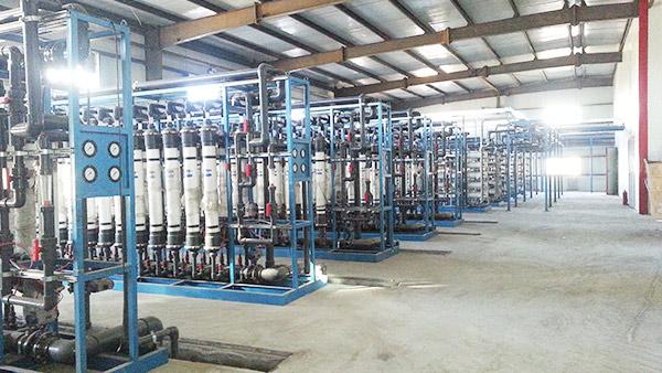 蒙西污水处理厂超滤膜案例