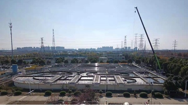 昆山某市政污水处理厂填料案例