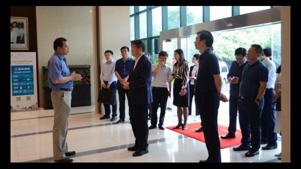 国务院副秘书长李宝荣赴苏净集团调研