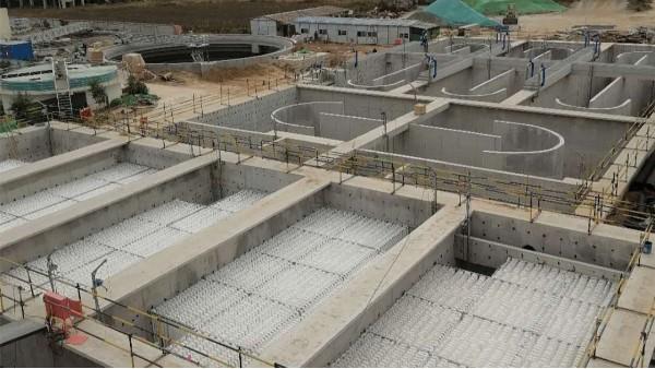 山东某市政污水处理厂填料案例