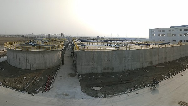 温州某氨纶废水填料案例