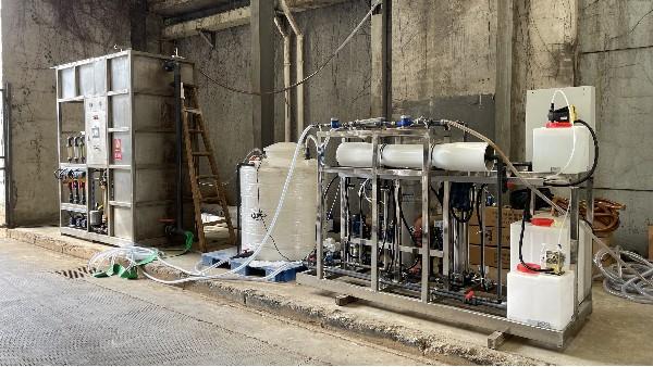 诸暨某印染废水处理MBR膜案例