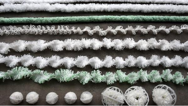 苏净新材料分享污水处理常用的几种生物填料!